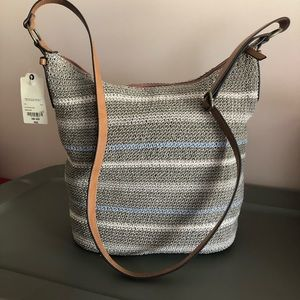 St John's Bay Crochet Hobo Bag